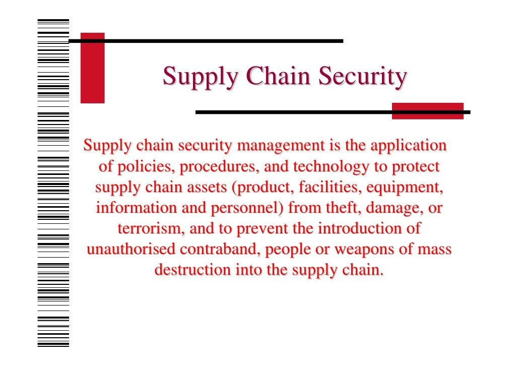international supply chain security