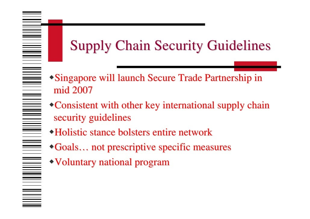 Supply chain recommendations