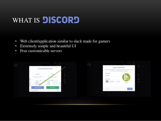 Discord Company Presentation by Anthony Tung