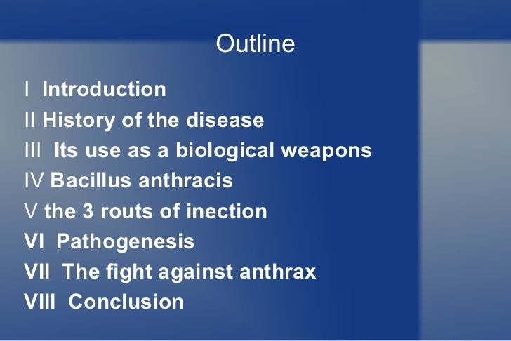 threat of anthrax as a weapon The threat of anthrax has emerged once again what is anthrax powder and what are the or following a release of anthrax spores as a weapon of.