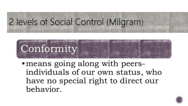 formal means of social control