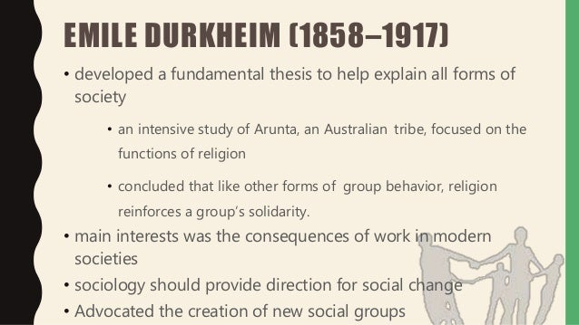 emile durkheim research paper View emile durkheim research papers on academiaedu for free.