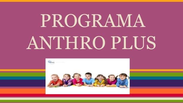 programa anthro