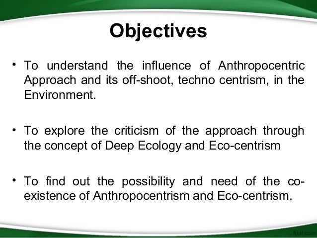 the sterbas proposal on reconciling anthropocentric and non anthropocentric views Other animals: scientific and religious concludes with concrete proposals to shift the anthropocentric focus of reconciliation or friendship to non-human.