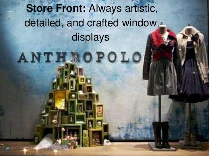 Anthropologie's Brand Position