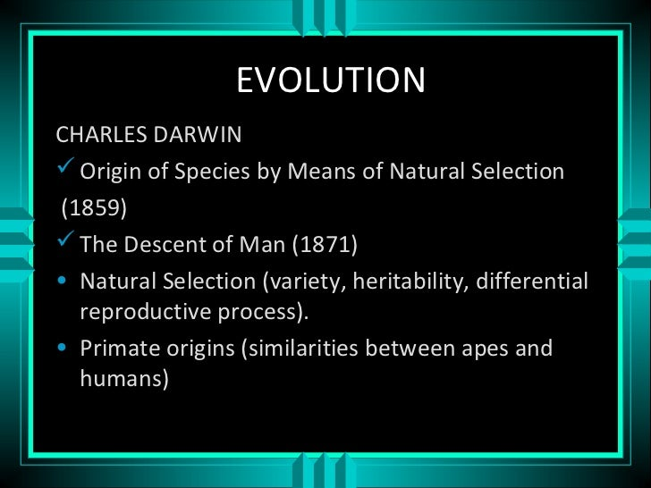 natural selection evolution mutation variation heritability Reference list for the natural selection and evolution lectures:  natural selection and evolution  origin of continuous variation & heritability: futuyma dj.