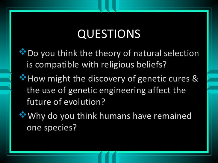 How Do Humans Affect Natural Selection
