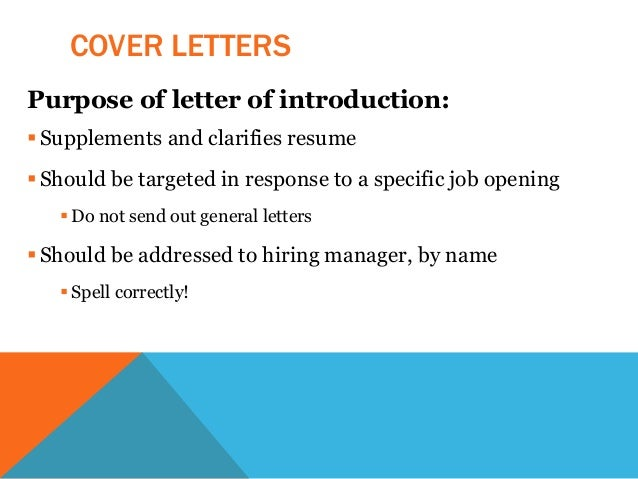 Anthropology: Resume & Cover Letter