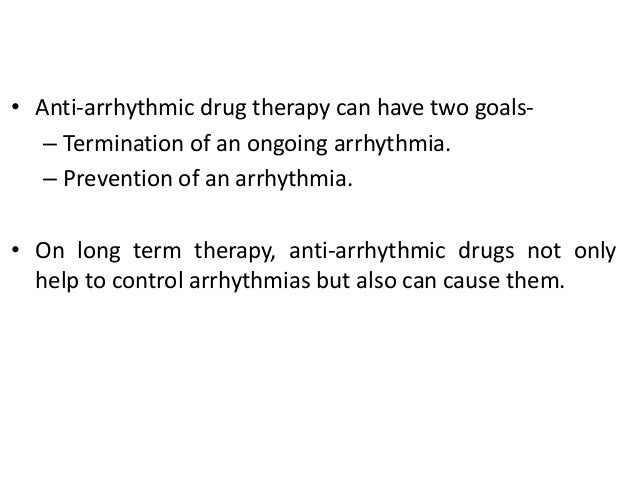 [Are anti-arrhythmia agents superior to a beta blocker in ...