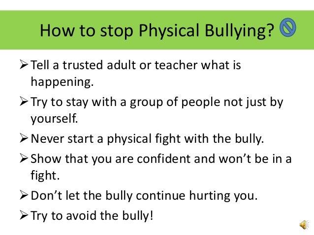 Anti-bullying presentation #4