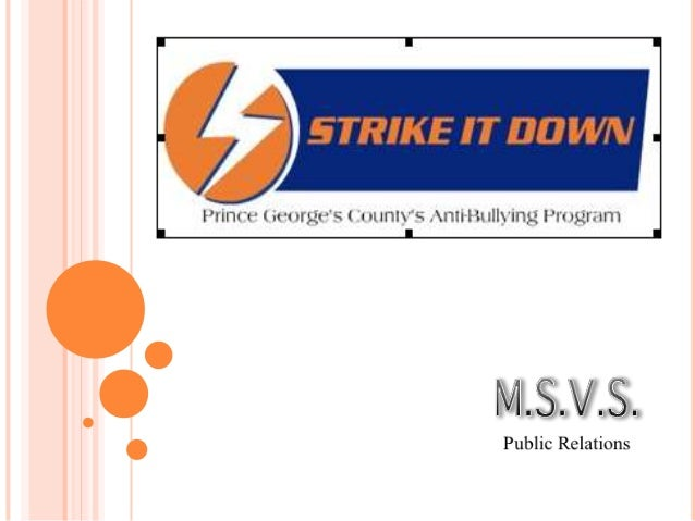   Agency Overview: M.S.V.S. Public Relations, founded in 2012, is an upstart agency dedicated to providing its clients wi...