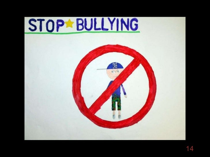 Anti Bullying Poster Show Edison Elementary