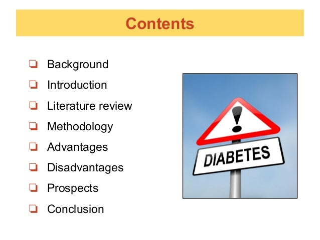 literature review on diabetes Moore, emma jane (1999) a literature review for nurses on the potential diabetic complications in children and young adults other thesis, middlesex university.