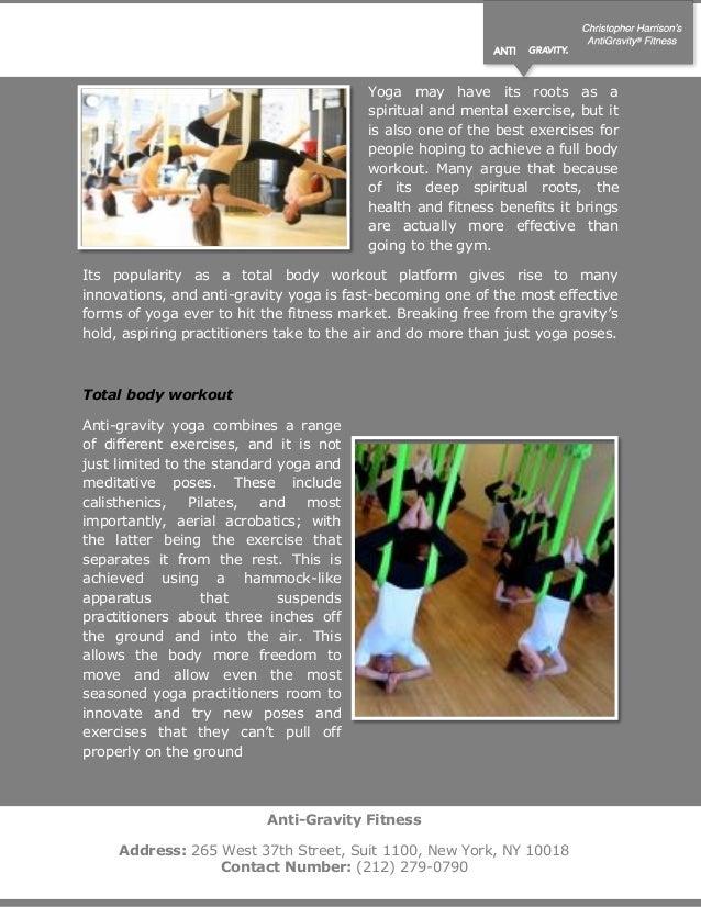 Anti gravity yoga flying fitness