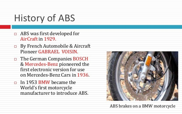 Hitting the Brakes: A History of Automotive Brakes