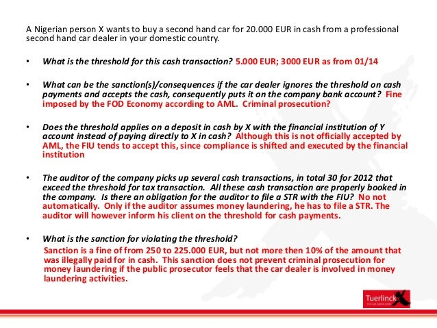 Jersey Anti Money Laundering Legislation