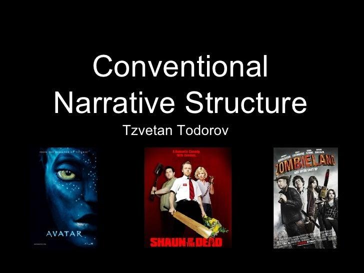 Conventional Narrative Structure Tzvetan Todorov