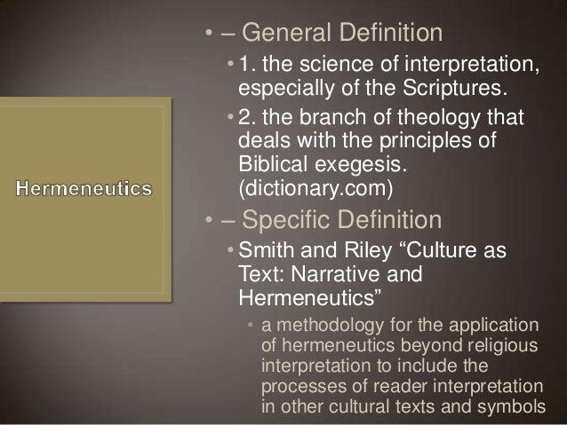 general principles of hermeneutics and exegesis Front range bible institute al albano, professor hermeneutics and principles of exegesis (bst 501)  general hermeneutics: macro exegesis – identifying structural.
