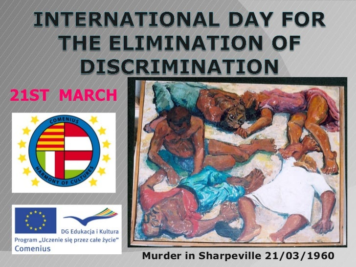 21ST MARCH             Murder in Sharpeville 21/03/1960