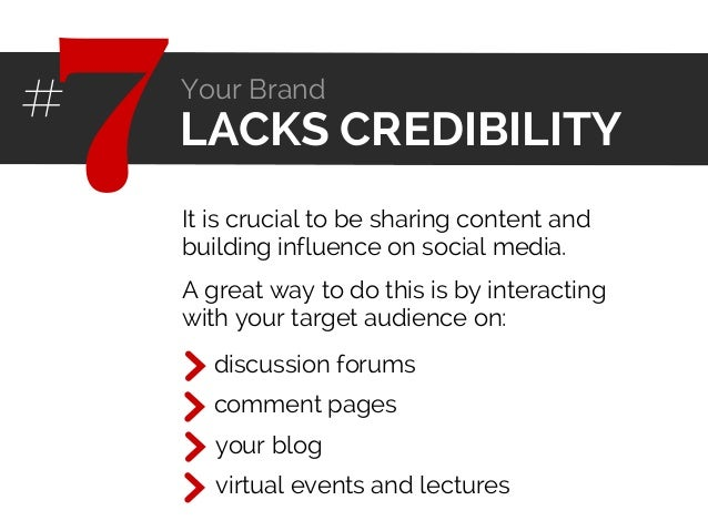 It is crucial to be sharing content and building influence on social media. discussion forums comment pages virtual events...