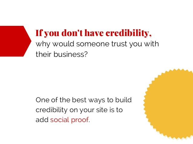 If you don't have credibility, why would someone trust you with their business? One of the best ways to build credibility ...