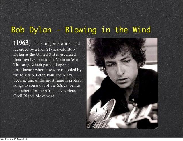 bob dylan blowin in the wind