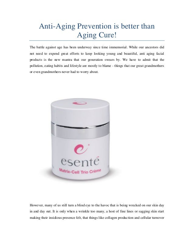 Antiaging Facial Products 85