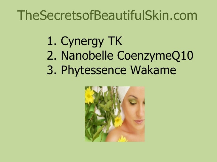 Skin Care System Based On Natural Ingredients