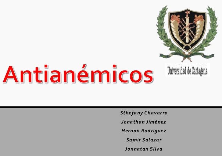 Sthefany ChavarroJonathan JiménezHernan Rodriguez  Samir Salazar Jonnatan Silva