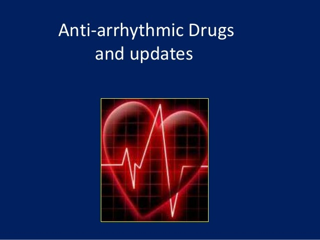 anti arrhythmia drugs Flashcards and Study Sets | Quizlet