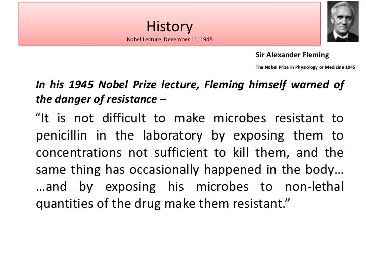 Antibiotic resistance essay