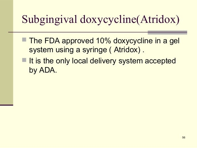 Common Antibiotics Used In Periodontal Therapy Easy