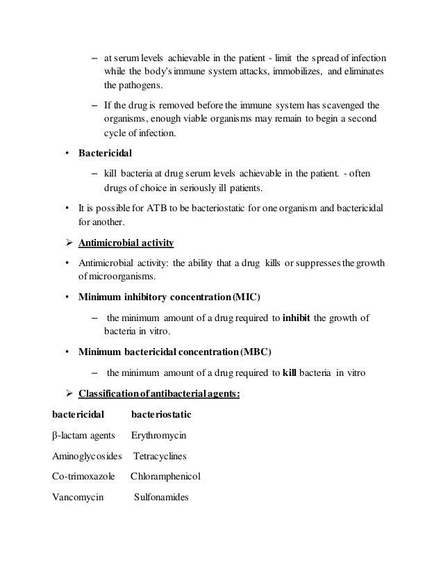 Antibiotics Slide 2