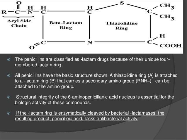 PENICILLINS Natural Semi synthetic 38