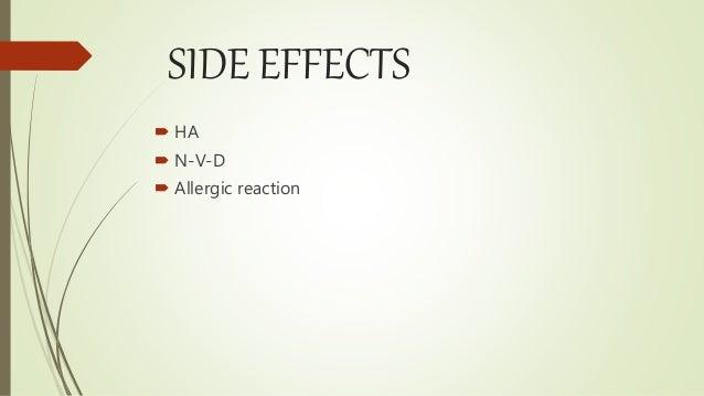 Maxaquin Side Effects