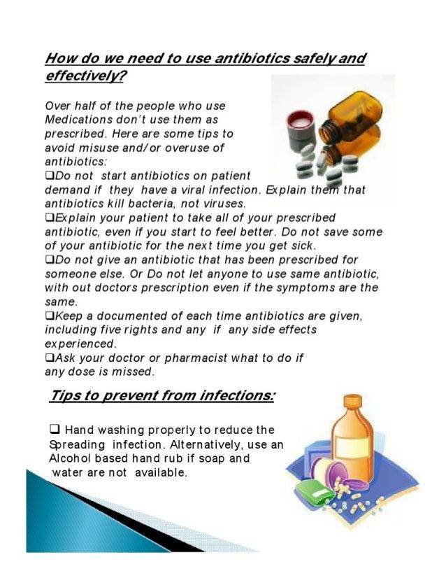 Antibiotics Safety