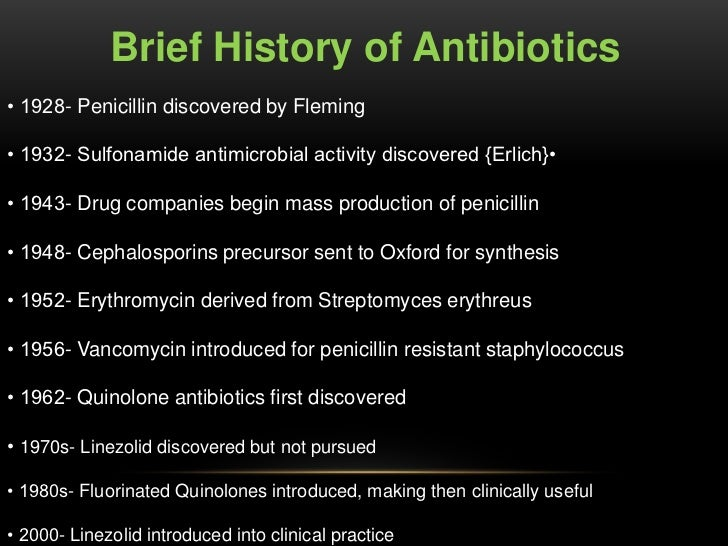 Antibiotics use and misuse and Consequences