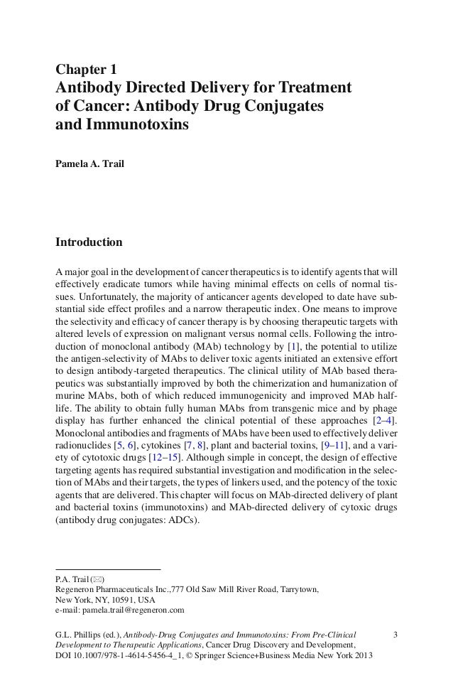 3G.L. Phillips (ed.), Antibody-Drug Conjugates and Immunotoxins: From Pre-ClinicalDevelopment to Therapeutic Applications,...