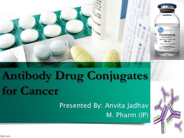 Antibody Drug Conjugates for Cancer Presented By: Anvita Jadhav M. Pharm (IP)