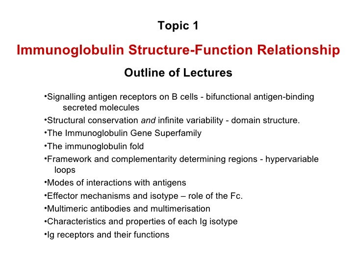 structure and function of antibodies pdf