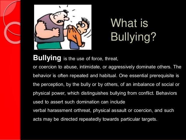 Anti bullying Act Powerpont Presentation