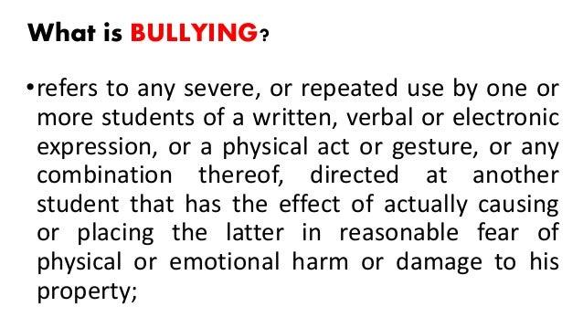 Anti bullying ra 10627 final ping