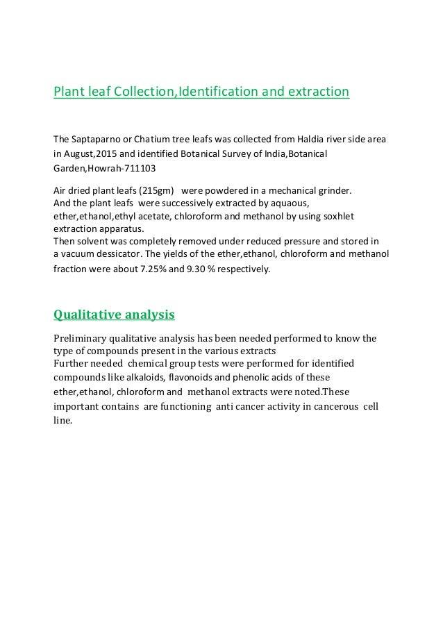antioxidant leaf thesis Pharmacognostic and physicochemical study of punica granatum l leaf manisha bapodara, krunal nagani and sumitra chanda saurashtra university, rajkot 360 005.