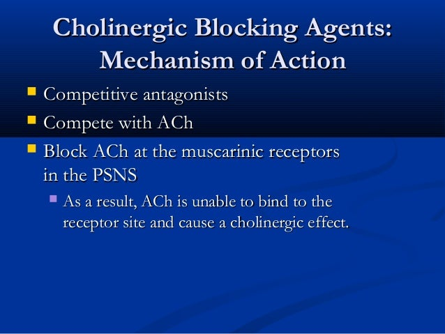 Anticholinergics (VK) Slide 3