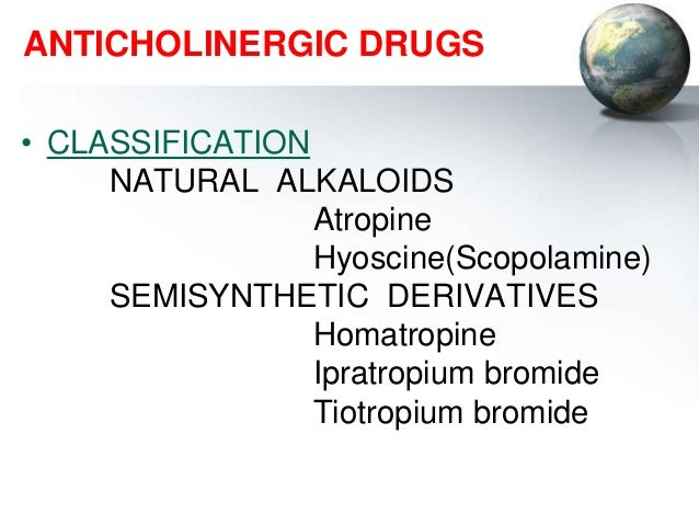 anticholinergics[1], Skeleton