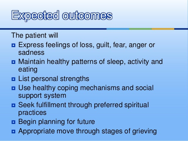 Anticipatory grieving related to pregnancy loss ncp