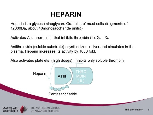 anticoagulation in neurosurgery heparin warfarin ppt