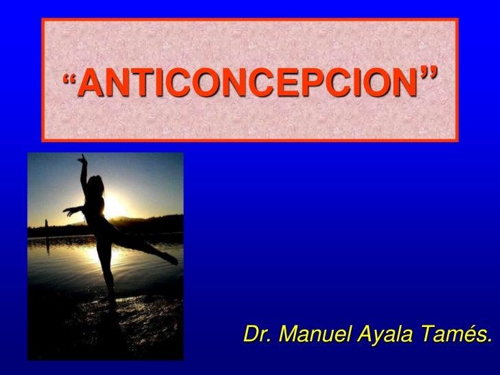 Anticoncepcion curso medicina Slide 2