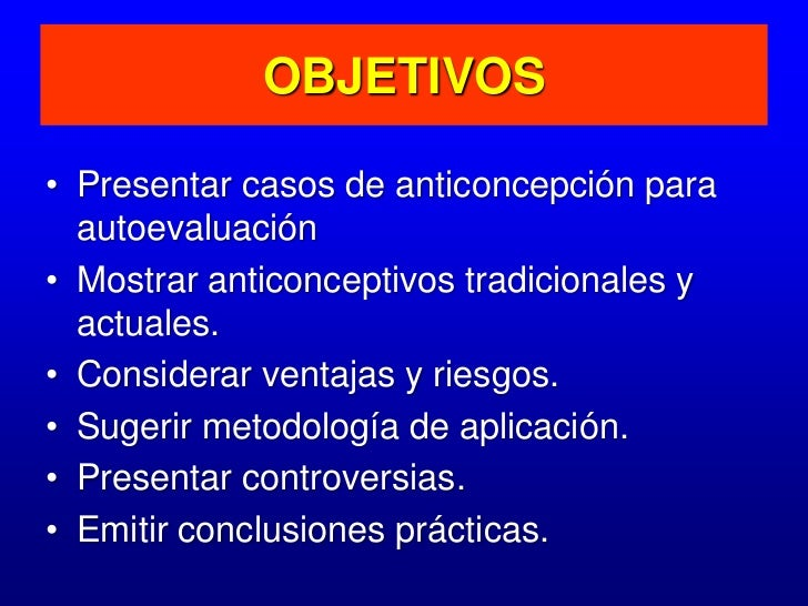 Anticoncepcion curso medicina Slide 3