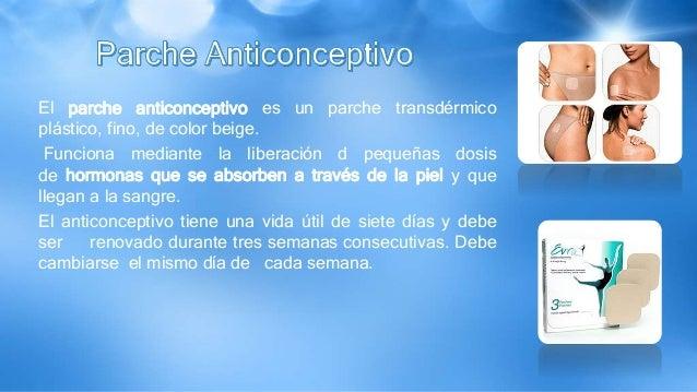 El parche anticonceptivo es un parche transdérmico plástico, fino, de color beige. Funciona mediante la liberación d peque...
